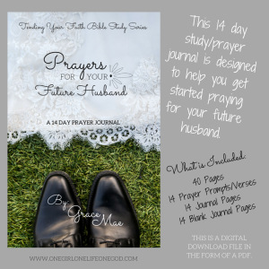 Fasting And Writing Prayers For Future Husband Devotional One Girl